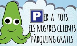PARKING GRATIS, CHIRINGUITO EL CALAMAR, PLATJA DEL PRAT, EL PRAT DE LLOBREGAT, BARCELONA